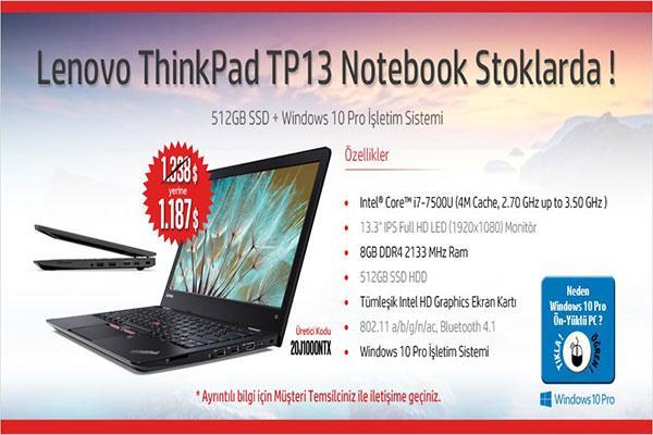 Lenovo ThinkPad TP13 Notebook